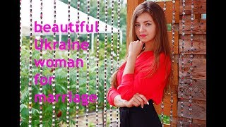 Meet Asya, a beautiful Ukraine woman ready for marriage