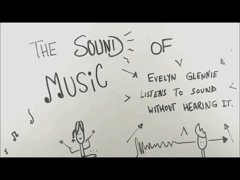 The Sound of Music - Evelyn Glennie listens to music without hearing it - BKP   class 9 english