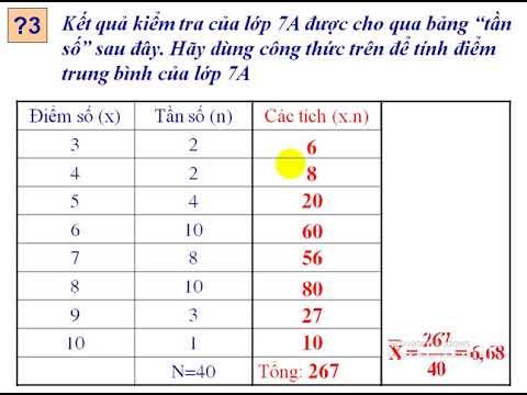bài giảng toán 7
