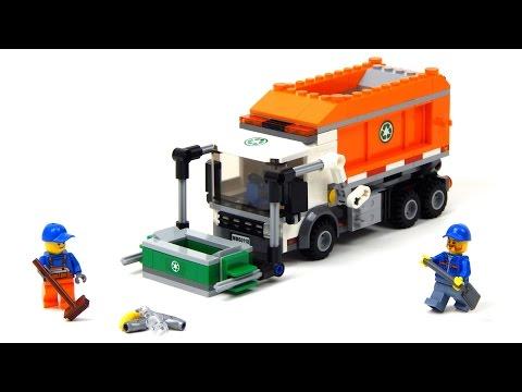 lego city 60118 pas cher le camion poubelle. Black Bedroom Furniture Sets. Home Design Ideas