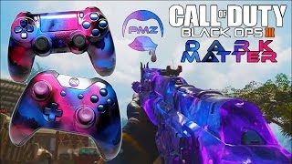 Dark Matter Camo (Black Ops 3) PS4 Controller & Wrench, Hand Airbrushed by ProModz.com