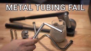 Metal Tubing Watercooling Fail | Cutting & Bending Brass (Part 1)