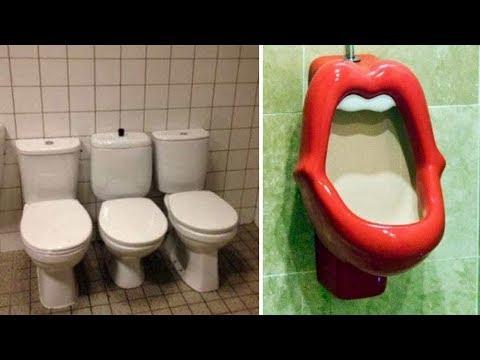 Самые ужасные общественные туалеты