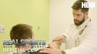 The Only Doctor Playing In The NFL | Real Sports W Bryant Gumbel | HBO
