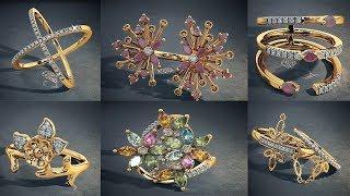 Latest Designer Gold Ring By Bluestone L Gold Finger Rings