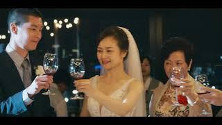婚錄加樂福團隊作品/台北婚錄推薦/萬豪酒店宴客/美式婚禮/Loren + Katherine