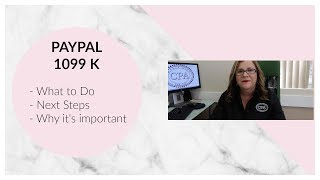 PAYPAL 1099K | Featuring Maria Diaz CPA