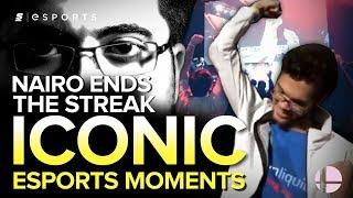 ICONIC Esports Moments: Nairo Ends ZeRo's Incredible Streak - MLG 2015 (Smash)