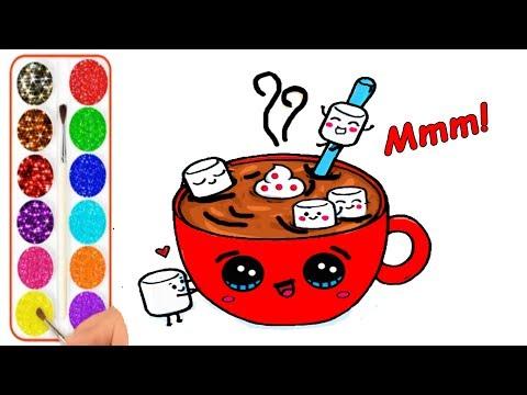 Como Dibujar Y Colorear Una Galleta De Panda Kawaii Dibujos