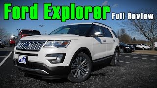 2017 Ford Explorer: Full Review | Platinum, Sport, Limited & XLT
