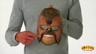 Smyths Toys Chewbacca Electronic Mask Advert
