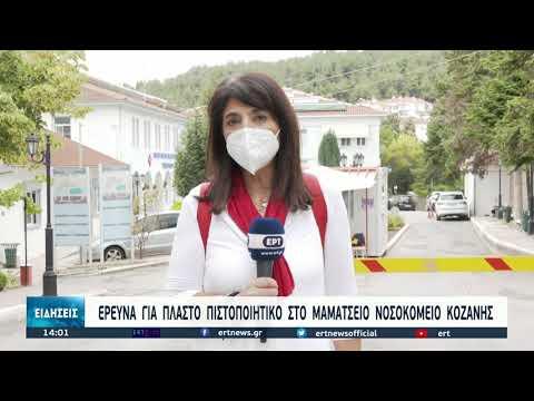 Συναγερμός μετά τις αποκαλύψεις για την ύπαρξη μαϊμού πιστοποιητικών εμβολιασμού | 08/09/2021 | ΕΡΤ