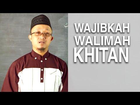 Video Serial Kajian Anak (38): Mendatangi Undangan Walimah Khitan - Ustadz Aris Munandar