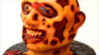 Custom Zombie Cake