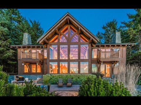 Video Tofino, Vancouver Island BC Oceanfront Luxury Home