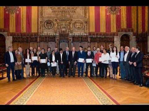 Acto de entrega de los premios de Amics del País