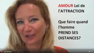 Amour : Que faire quand mon homme prend ses distances?