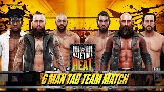 WWE Halftime Heat 2019 Full Match: Aleister, Ricochet & Dream Vs. Ciampa, Gargano & Cole (WWE 2K19)