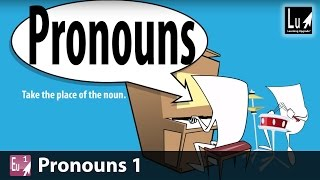 Pronouns 1 Song – Learn Grammar – Learning Upgrade