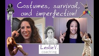 Celebrating imperfection and survival through costumes with Allison!