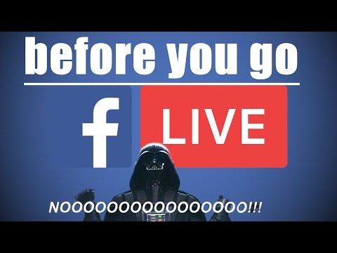 5 Guidelines before going LIVE on facebook