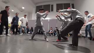 慶應義塾大学【John DoE】 vs 明治大学【あめいじー】 / DANCE@LIVE 2017 RIZE KANTO CLIMAX