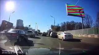 Неадекваты на дороге, приколы на дороге 2018