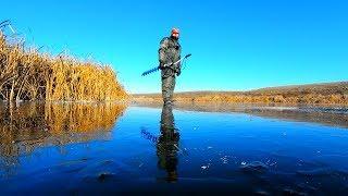 Ловля рыбы на прозрачном льду