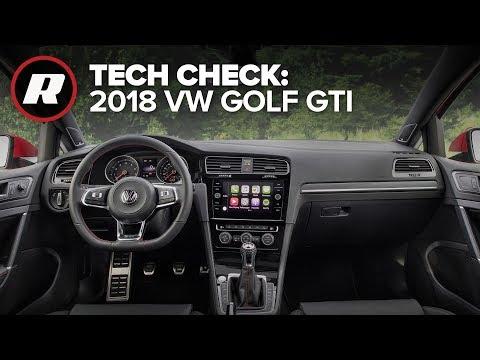 Tech Check: 2018 VW Golf GTI AppConnect