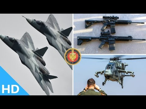 Indian Defence Updates : Su-57's New Stealth,Army's New Sniper Rifles,Navy Tests Sahayak Containers