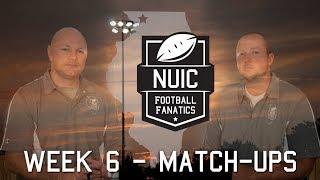 Week 6   Match Ups