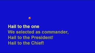 *Hail To The Chief - No Melody