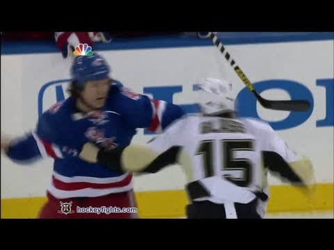Arron Asham vs. Tanner Glass