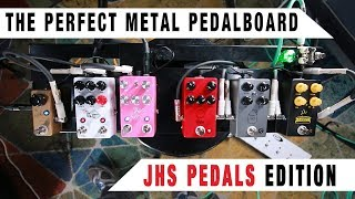The Perfect Metal Pedalboard   JHS Pedals Edition | GEAR GODS