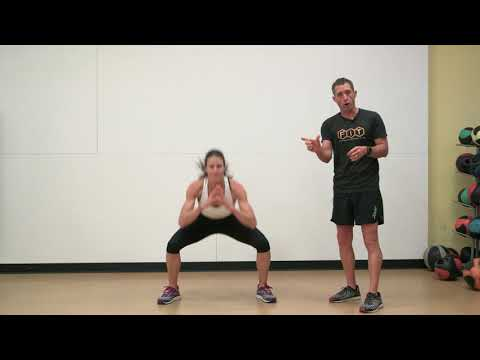 In and Out Squat Jump