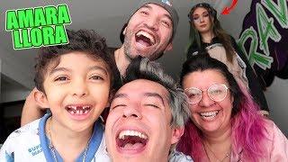 24 Horas IGNORANDO a AMARA *Se Pone a LLORAR* - La Familia de Ami Cap #2