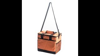Insulated Restaurant Food Delivery Bag - Orange