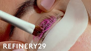 I Got A Lash Lift For The First Time | Macro Beauty | Refinery29