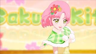 Sakura Kitaoji  - (Aikatsu!) - Aikatsu! Sakura Kitaoji Happiness on the same Earth Stage