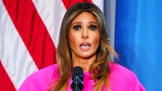 Melania Delivers Anti-Bullying Speech...With Zero Sense Of Irony