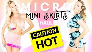 MICRO MINI SKIRTS   Pt. 2   Try On Haul From DollsKill.com