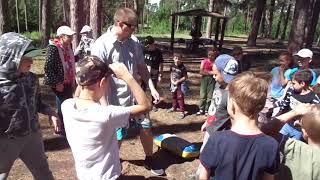 Боевое Ушу Тольятти - детская тренировка: