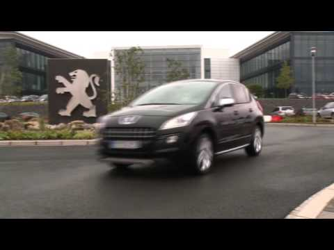 Peugeot 3008, Ride and Handling