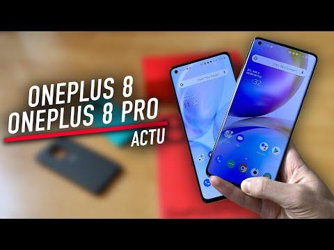 On a essayé les OnePlus 8 et OnePlus 8 Pro