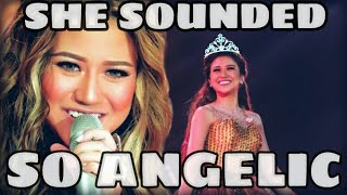 Morissette Amon SLAYING her SONG!