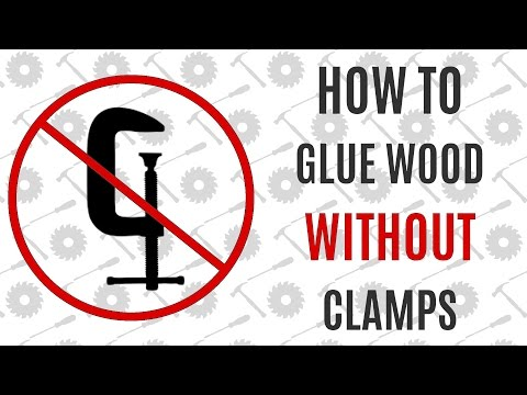 Glue Wood Joints Together Without Any Clamps Using Super Glue