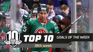 17/18 KHL Top 10 Goals for Week 18