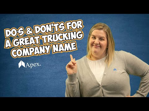 , title : 'How to Choose a Great Trucking Company Name