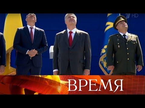 В День Вооруженных сил Украины в Twitter Верховного главнокомандующего появилось фото кота. (видео)