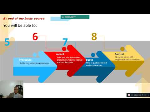 Cost Estimating - Basic course in UDEMY - YouTube